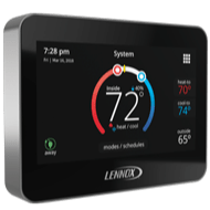 Lennox iComfort M30 thermostat.