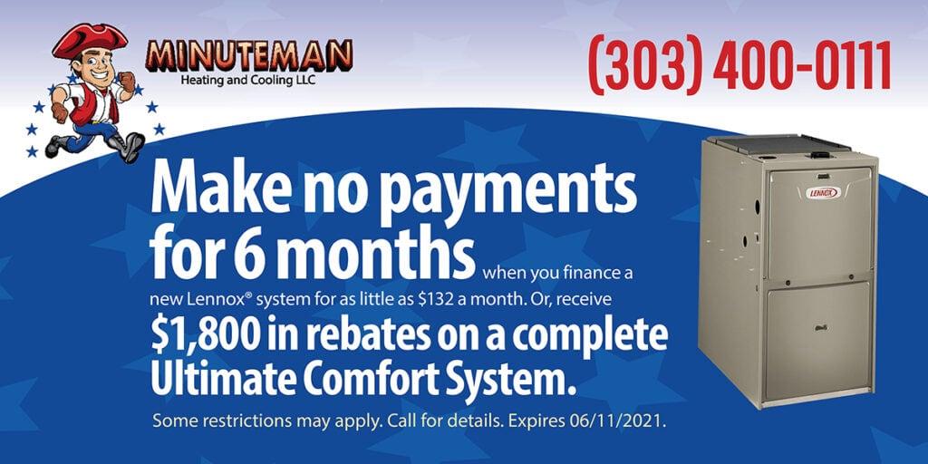 Minuteman Lennox coupon